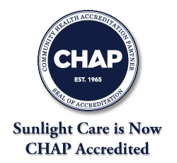 Sunlight Care is CHAP Accredited